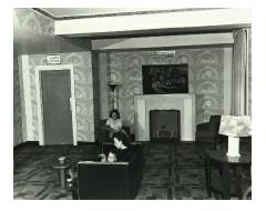 The original upstairs lobby